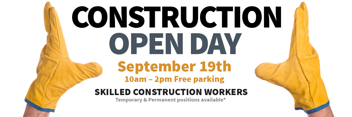 Construction Skilled Workers Open Day